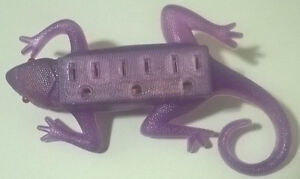 Purple Salamander Power Bar Outlet with Lighted Red Eyes