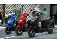 Brand NewSym Mask 50 Moped. 36 mths warranty. Free £100 Helmet included