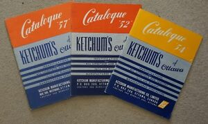 1950's KETCHUM'S Livestock and Poultry Farm Supplies Catalog