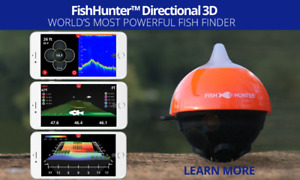 Fish hunter 3D castable sonar