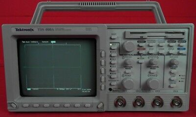 Tektronix Tds460a Oscilloscope 400 Mhz 4 Channel
