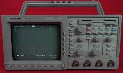 Tektronix Tds460a Oscilloscope 400 Mhz 4 Channel