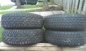 Winter Tires 215/65R16