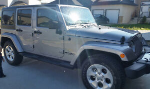 2014 Jeep Wrangler Sahara Unlimited 4X4