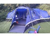 Hi gear Sahara 6 large tent and extras
