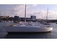 WESTERLEY J24 SAILING YACHT. Very popular one design keelboat. FOR SALE due to ill health.