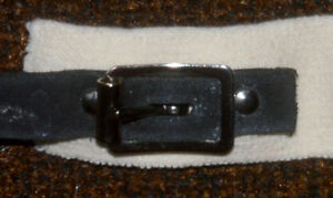 boucles 13mm 1/2 inch light center bar buckle with roller