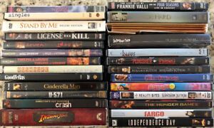 For Sale - Mixed lot of DVD Movies - 28 for $25