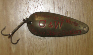 Antique Gooderham and Worts fishing lure