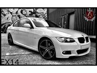 BMW AXE Diamond Cut 19 inch Concave Staggered Alloy Wheels CV3 VOSSEN - E46 E90 M3 M5 3 5 series