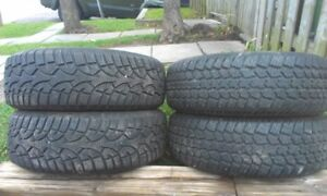 Winter Tires 215 65/R16