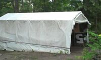 LARGE LONG LIFE TARPS 14.5 FT WIDE BY 45 FT LONG ONLY $ 40 EACH