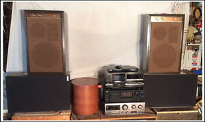 Two Stereos For Sale: Mix and Match!