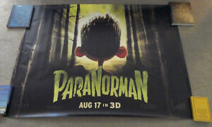 Large Paranorman Movie Poster