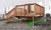 Postech Helical Piles (Decks, Sheds, Additions, Sunrooms)