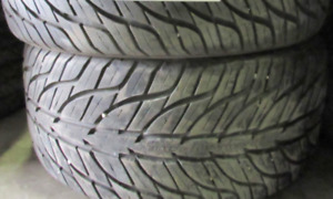 P245/40/17-P225/45/17 - 75 PERCENT TREAD 4 TIRES Staggered set G