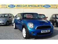 2006 (56) BMW MINI COOPER S 1.6 SUPERCHARGED * LAZER BLUE * GREAT CAR *