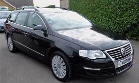 VOLKSWAGEN PASSAT 1.9 TDI HIGHLINE ESTATE (FULL LEATHER TRIM)