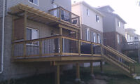 Call today to book your Deck and Fence!