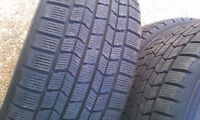 225/60R16 Set of 4 Dunlop Used Free Inst.&Bal.75%tread left