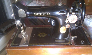 Antique electric Singer Sewing Machine $100 OBO Peterborough Peterborough Area image 1