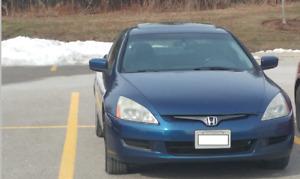 2003 Honda Accord EX-L Coupe (2 door) 6 Spd.