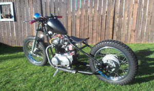 1972 XS650 Custom Hardtail Bobber - Price Reduction Check It Out