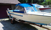 GOOD CONDITION 18FT STARCRAFT ALUMINUM BOAT AND TRAILER
