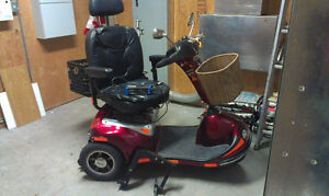 Shoprider, Landcruiser, 3-wheel Mobility Scooter