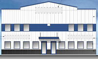 New Commercial Warehouse building for lease in NE Airdrie