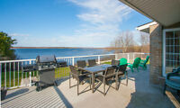 4,000 sq/ft PEC home, Lake Consecon, heart of Wine Country