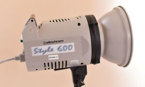 Elinchrom Style 600 - 600 Watt/Second Monolight Strobe Flash