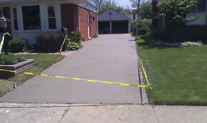 CONCRETE DRIVEWAYS PATIOS POOL DECKS www.aclandscaping.ca Windsor Region Ontario image 8