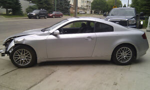 2005 Infiniti G35 Coupe parts for sale