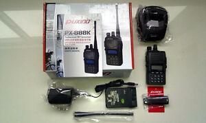 2 radios puxing PX-888K VHF UHF