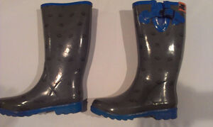Girl's Rubber Rain Boots (Size 5 and 8)