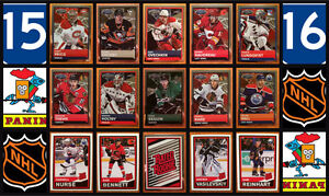 2015-16 PANINI NHL Hockey Stickers Complete Set of 516 MINT