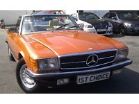 1980 MERCEDES SL380 AUTOMATIC STUNNING FULLY RESTORED 2 OWNER 68000 MILE EX