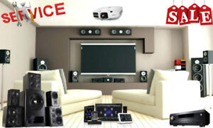 Audio/Video System, Home Theater, TV, Projector