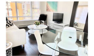 YALETOWN /furnished/ 2 bd & den, patio, amenities