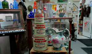 Rogers Syrup tin & pails 5 10 & 20 lb early version