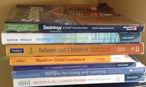 NBCC Early Childhood Education Textbooks