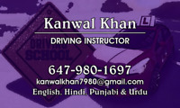 Driving instructor  in brampton