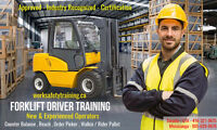 Forklift Training + Jobs from $14-$20/hr - Get Working Today!