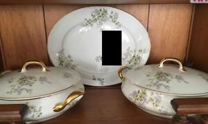 Limoges Fine China FRANCE 62 PIECES CUPS SERVERS PLATES Kingston Kingston Area image 4