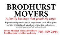 Labourer needed for Brodhurst Movers