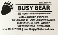 DUMP RUNS ( KNOW WHERE YOUR TRASH IS GOING )