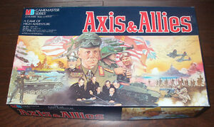 MILTON BRADLEY 1980'S  AXIS AND ALLIES BOARD GAME
