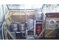 Gas fired craft brewery -80l capacity