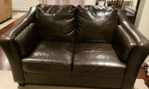 Leather Couch/ Sofa